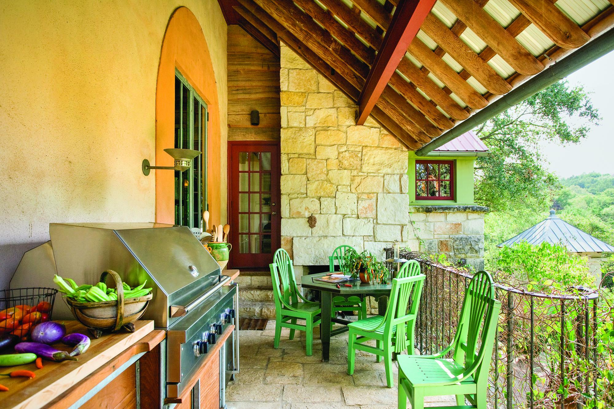 Kitchen Decor Green Walls