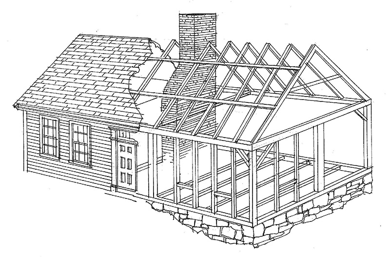 Old House Drawing Modern House Modern House