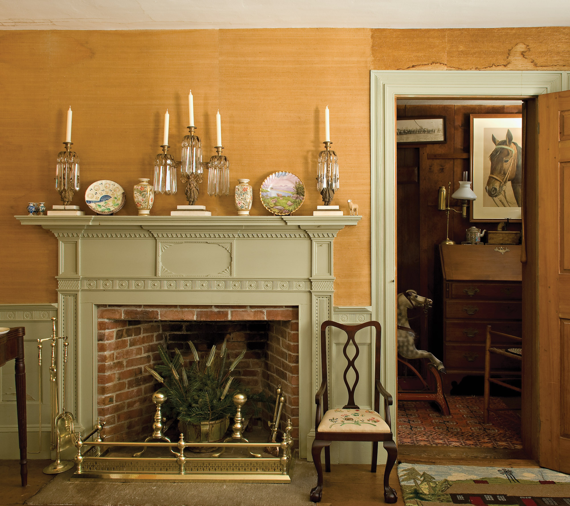 Considering The Mantel Old House Journal Magazine