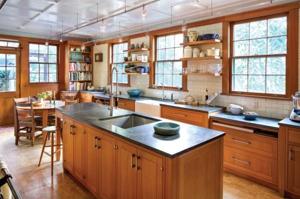 Modern Craftsman Kitchen - House Journal Magazine