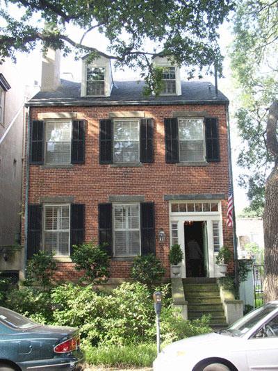1850 Georgian Colonial in Savannah Georgia  OldHousescom