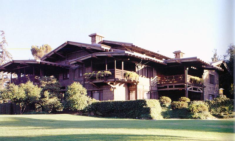1909 Craftsman Bungalow in Pasadena California