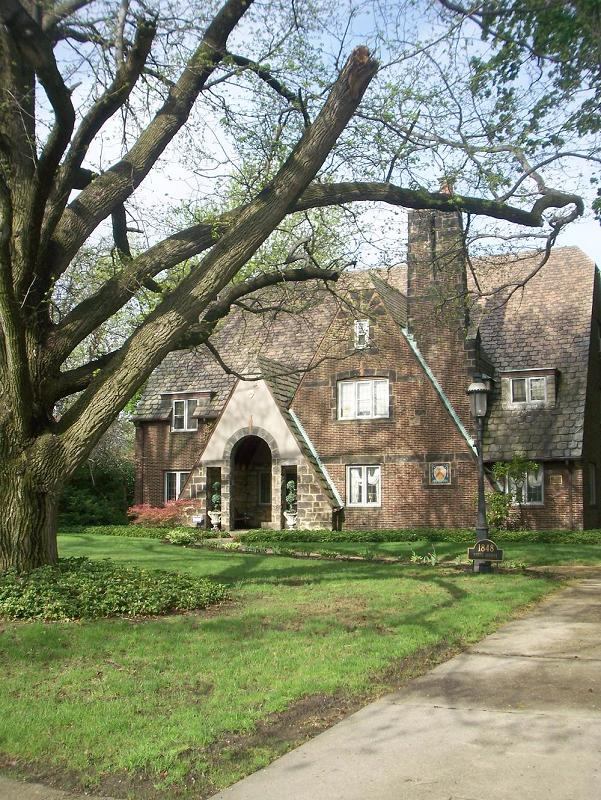 youngstown kitchen cabinets machine washable rugs 1930 tudor revival in youngstown, ohio - oldhouses.com