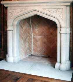Fireplaces Limestone mantels  Old House Web