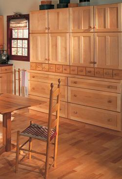 Kitchen Cabinets Shaker wall  Old House Web
