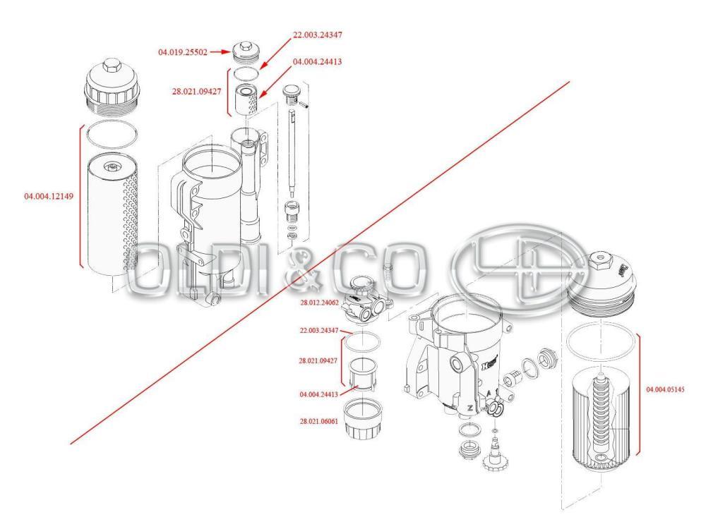 medium resolution of  04 019 25502 filters fuel filter housing cap filtri degvielas filtra tv rtnes