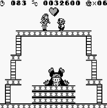 Test de Donkey Kong sur Nintendo Game Boy