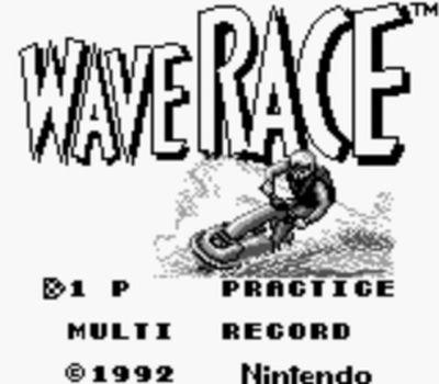 Test de Wave Race sur Nintendo Game Boy