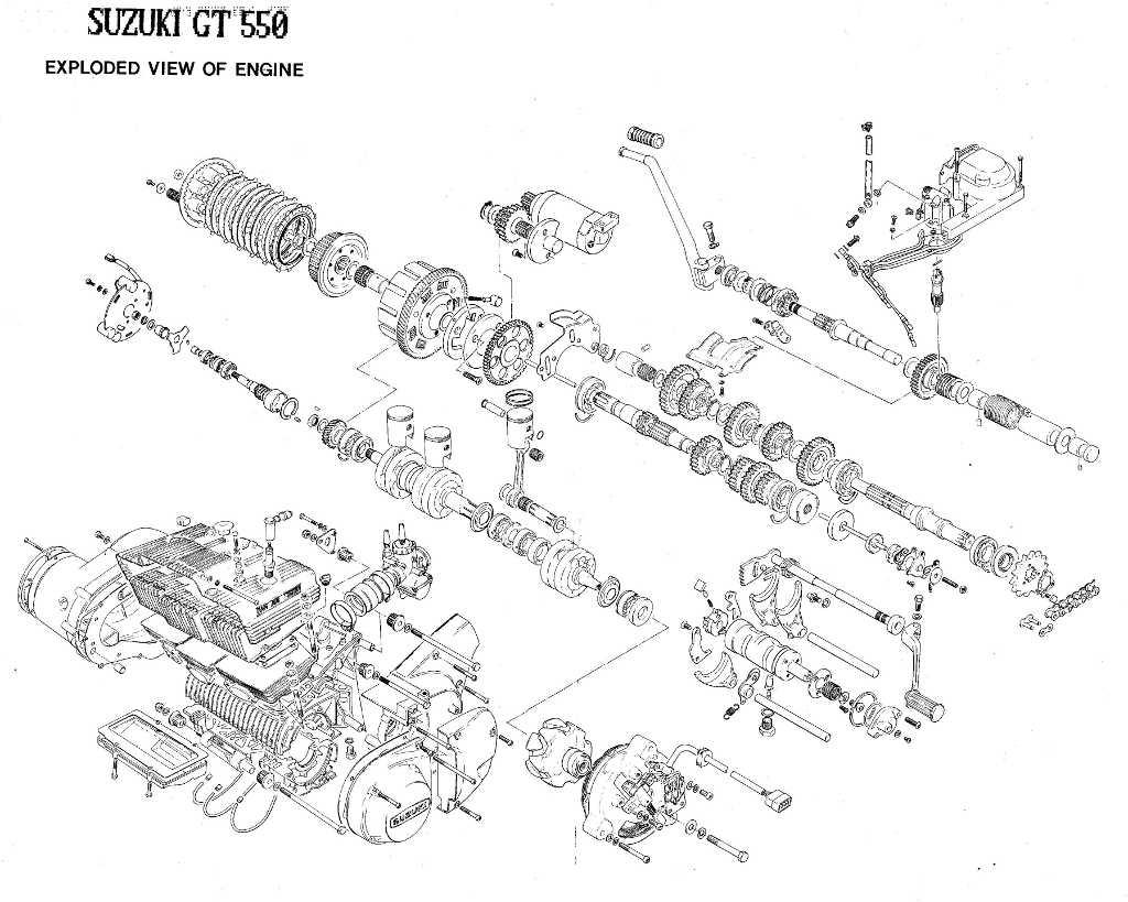 Suzuki GT550 Field Guide