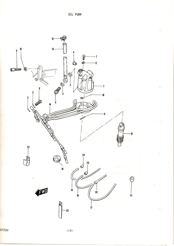 GT550 Parts Manual