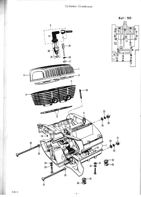 Suzuki S32 Parts Manual