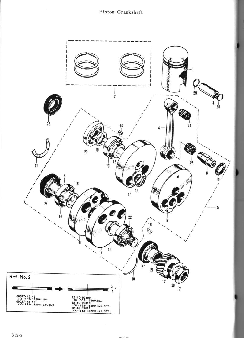 Suzuki S32 Parts Manual