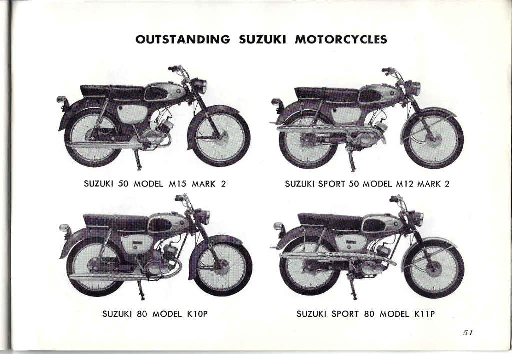 Suzuki A100 Owner's Manual