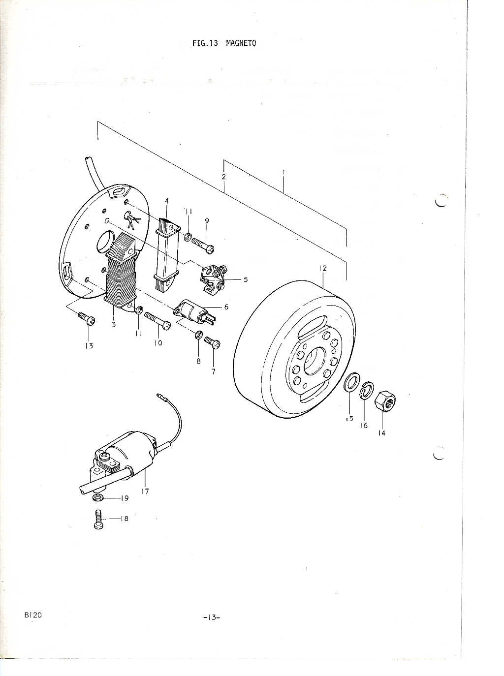 Suzuki B120 Parts Manual