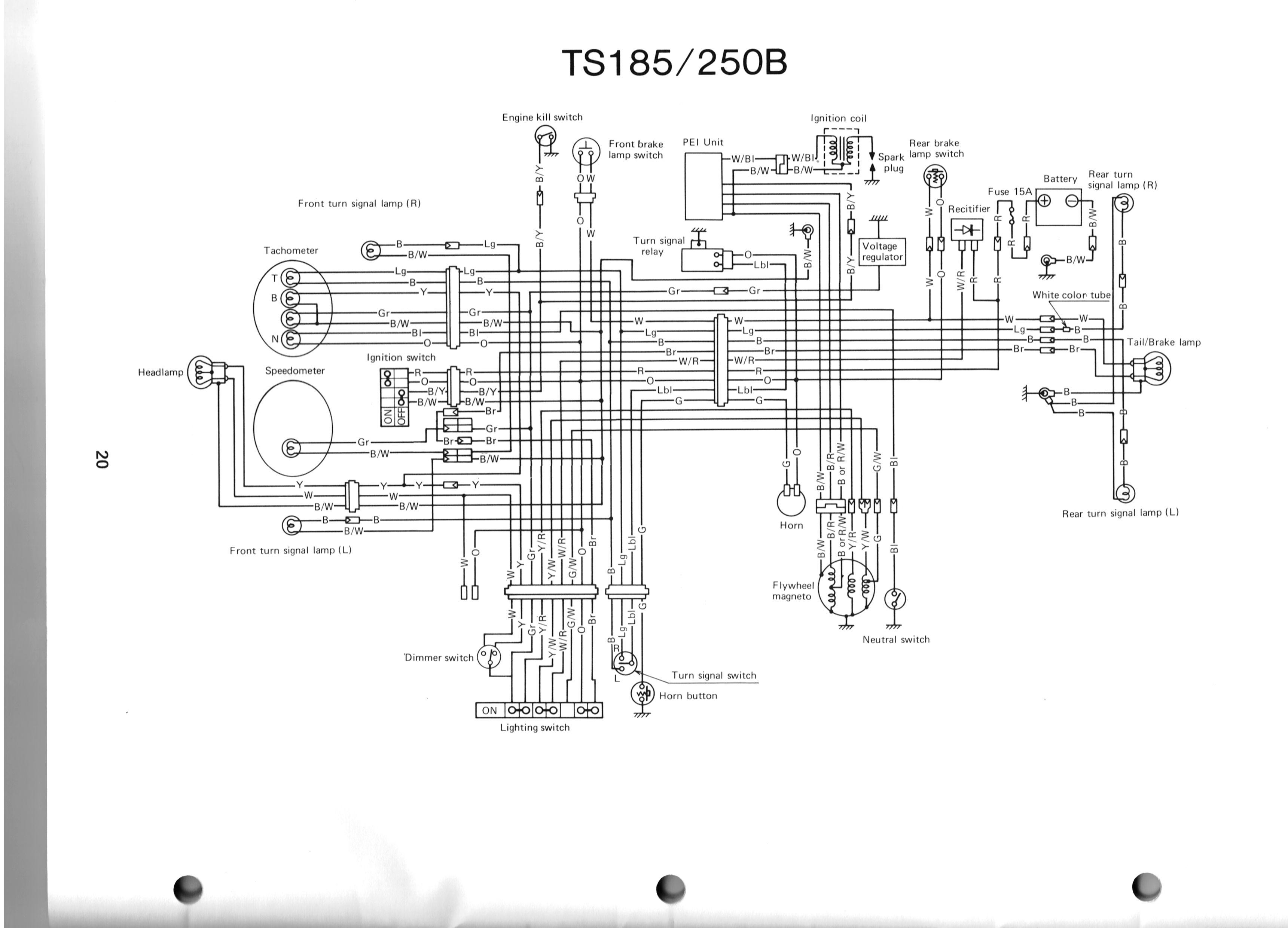 1981 Suzuki Gs450 Wiring Diagram
