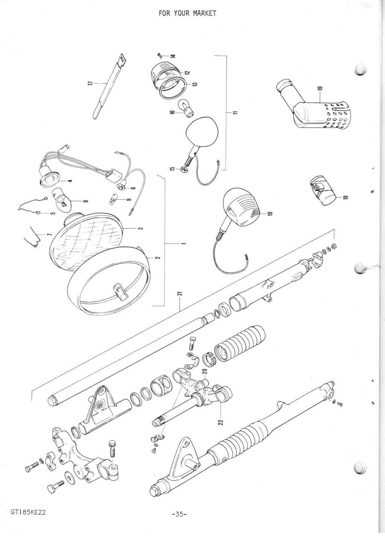 GT185 Parts Manual
