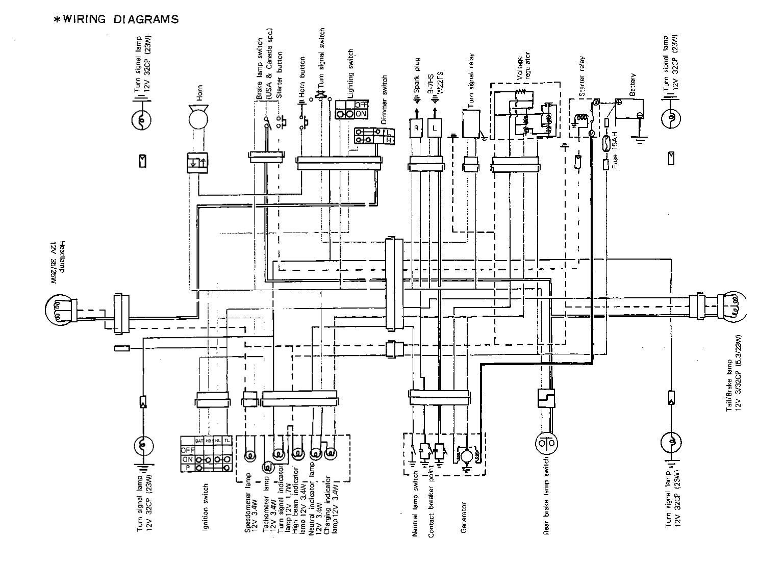 Diagram 1400 Suzuki Wiring Intruder
