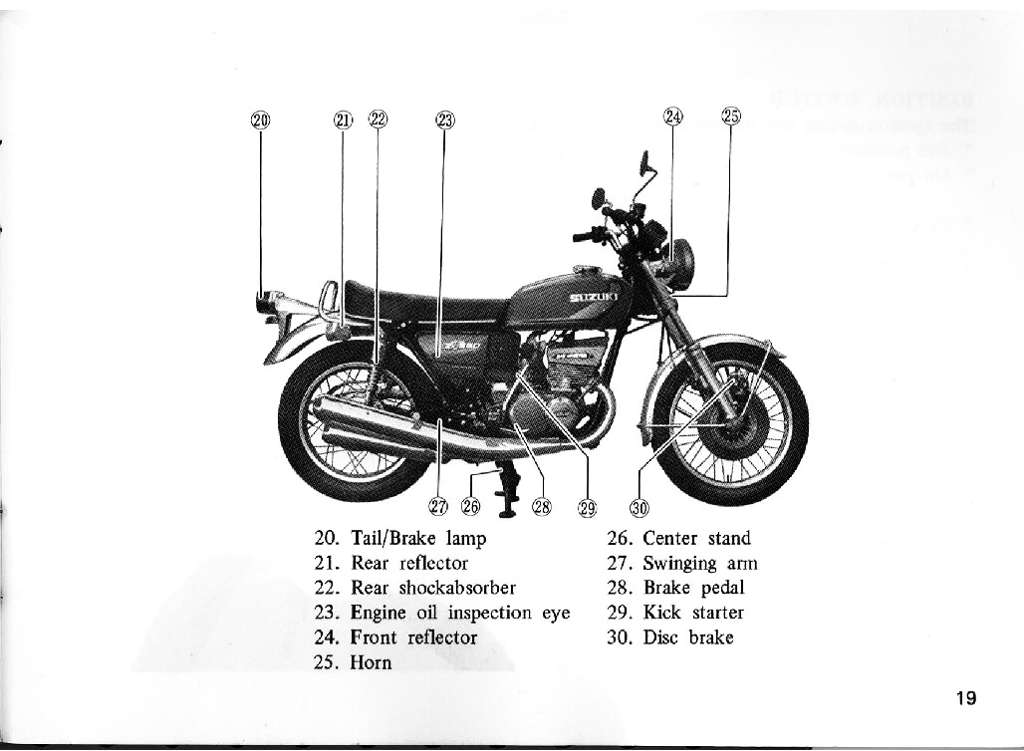 GT550L Owners Manual