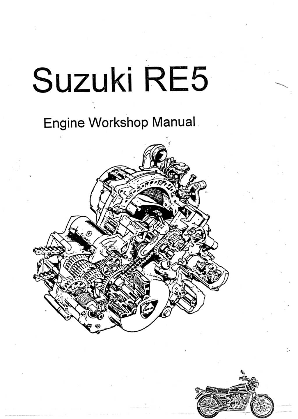 RE5 Engine Service Manual