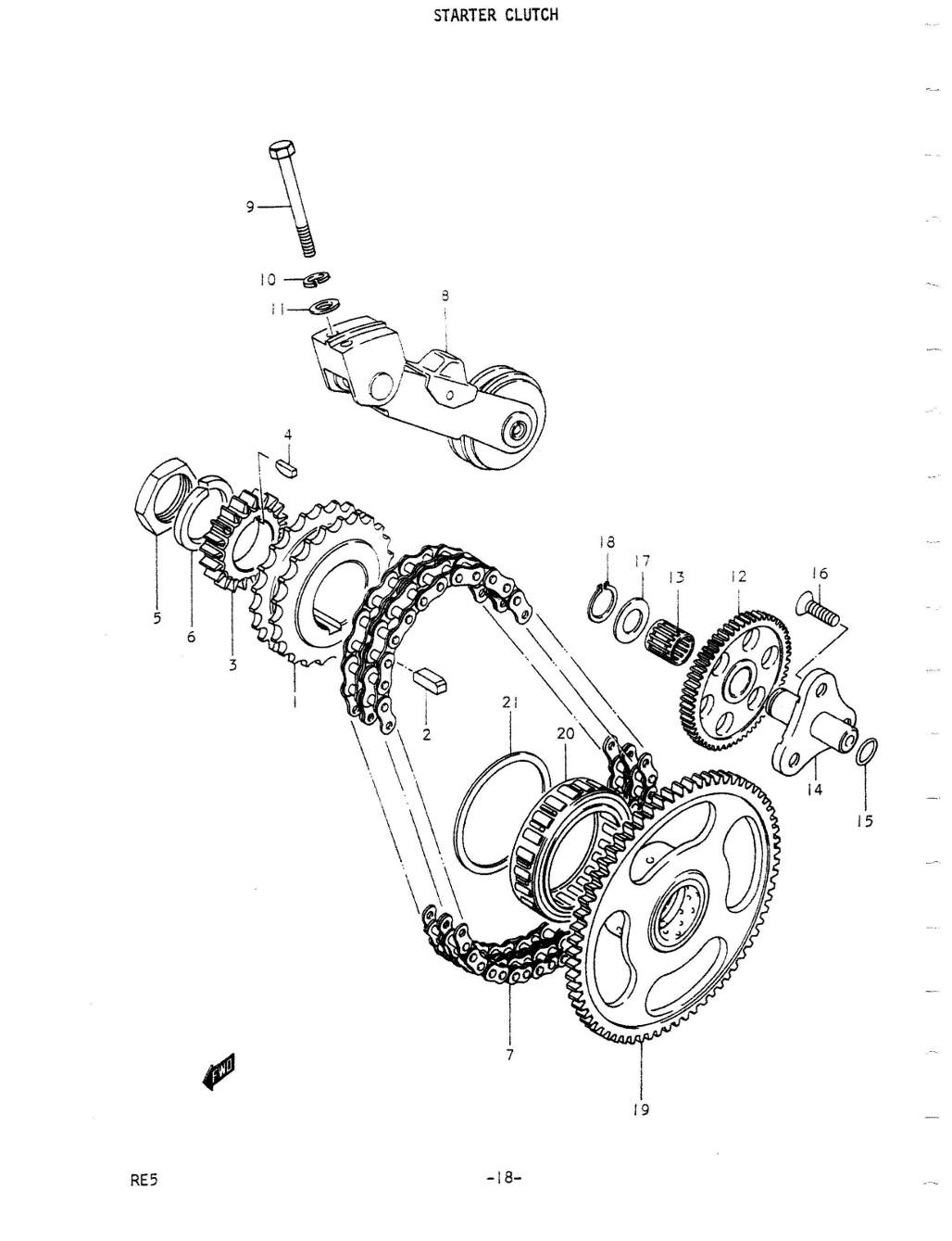 RE5 Parts Manual