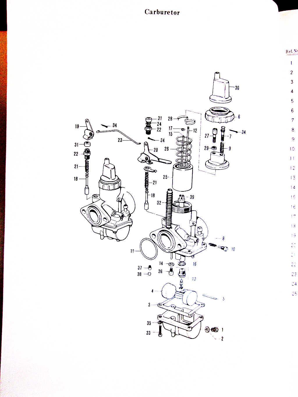 T305/TC305 Parts Manual