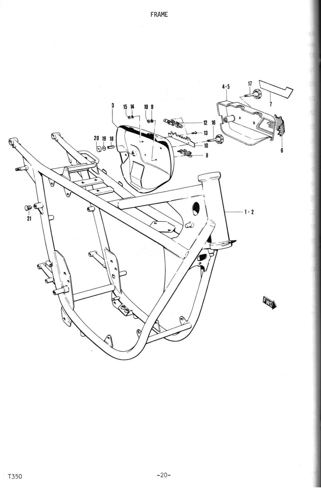 T350 Parts Manual