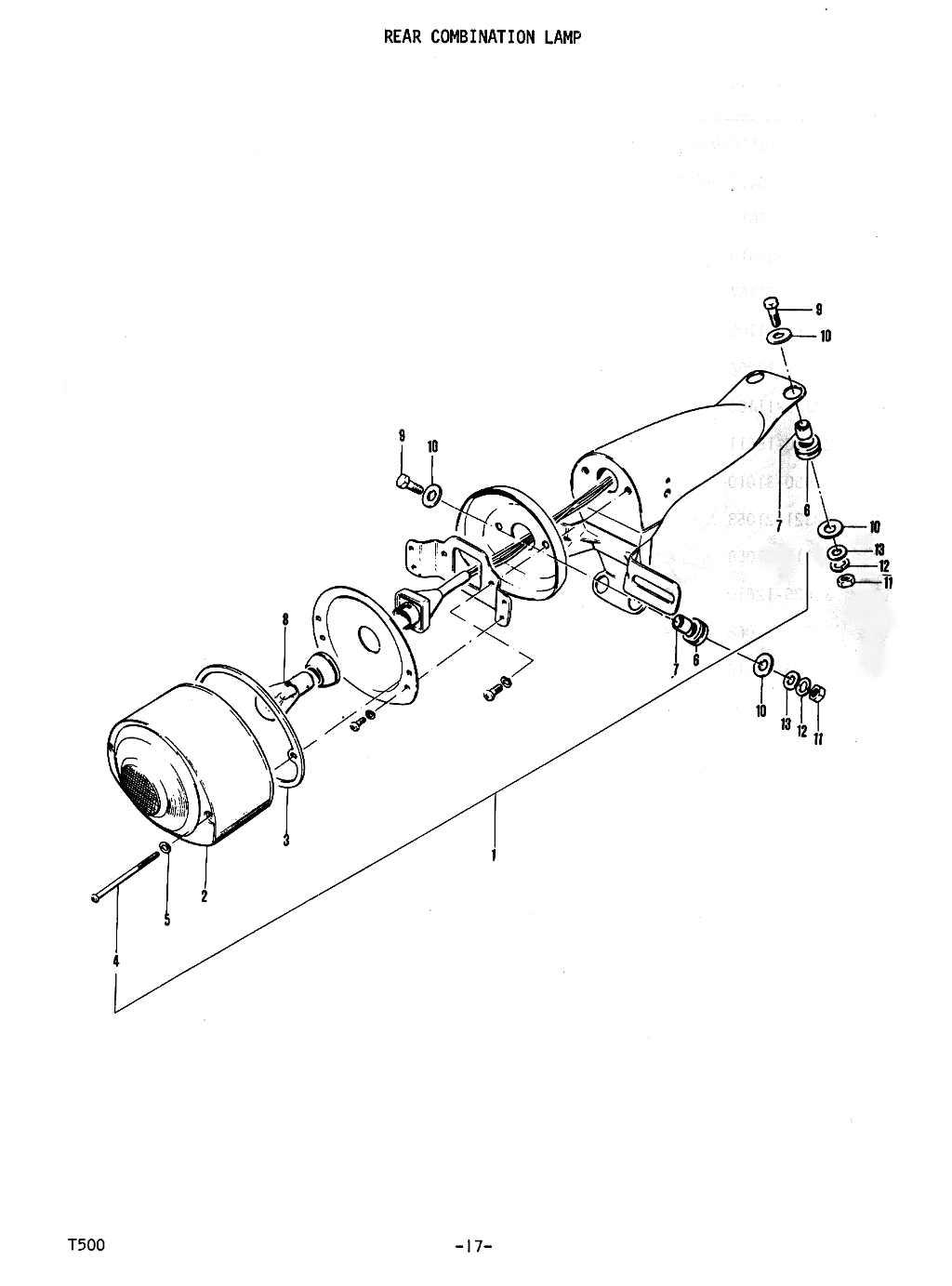 T500 Parts Manual