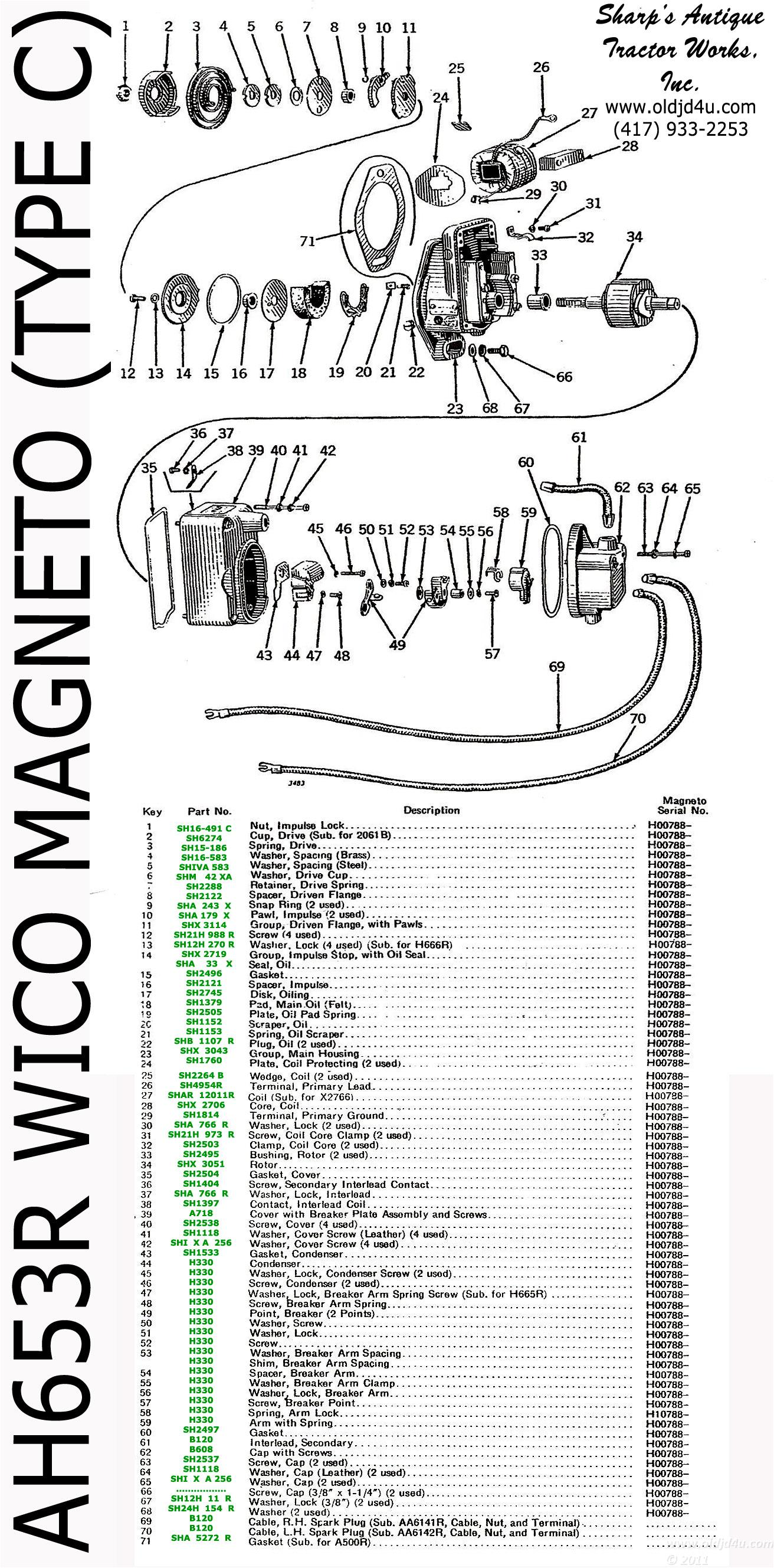 hight resolution of wico magneto diagram wiring schematic data rh 57 american football ausruestung de vw coil wiring with