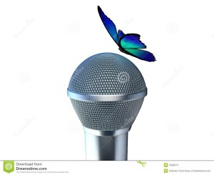 http://www.dreamstime.com/stock-photos-microphone-butterfly-image3492973