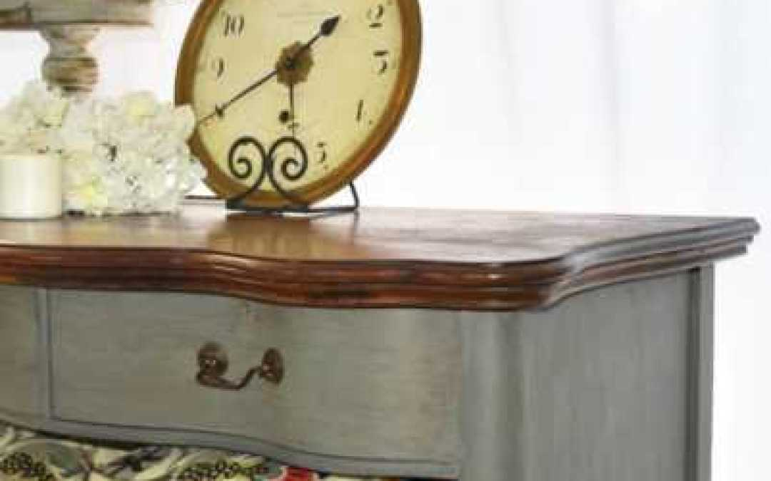 Sidenote Saturday: Becky's Dresser and How I Take Advantage of Great Weather
