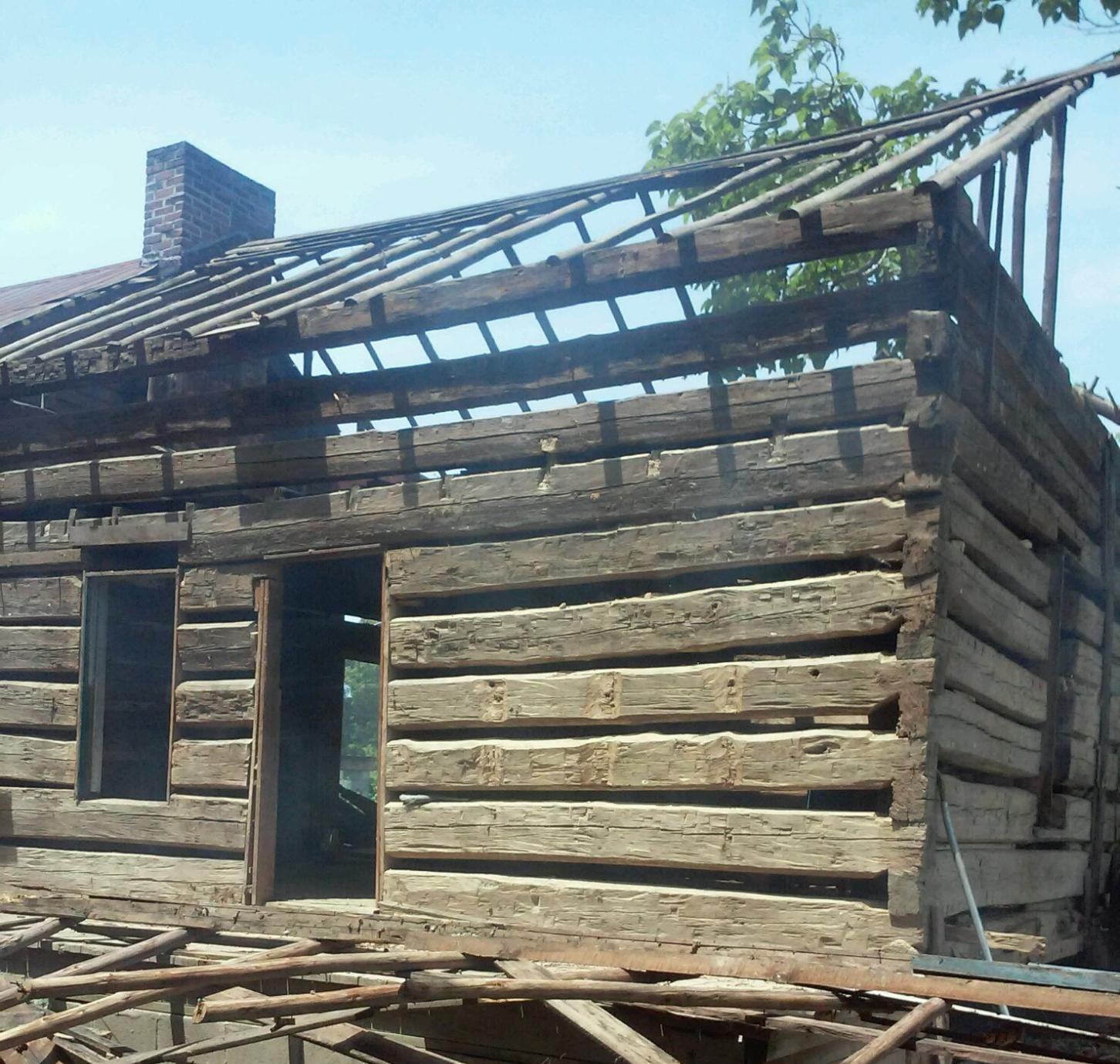 Harbin  Old Log Cabins