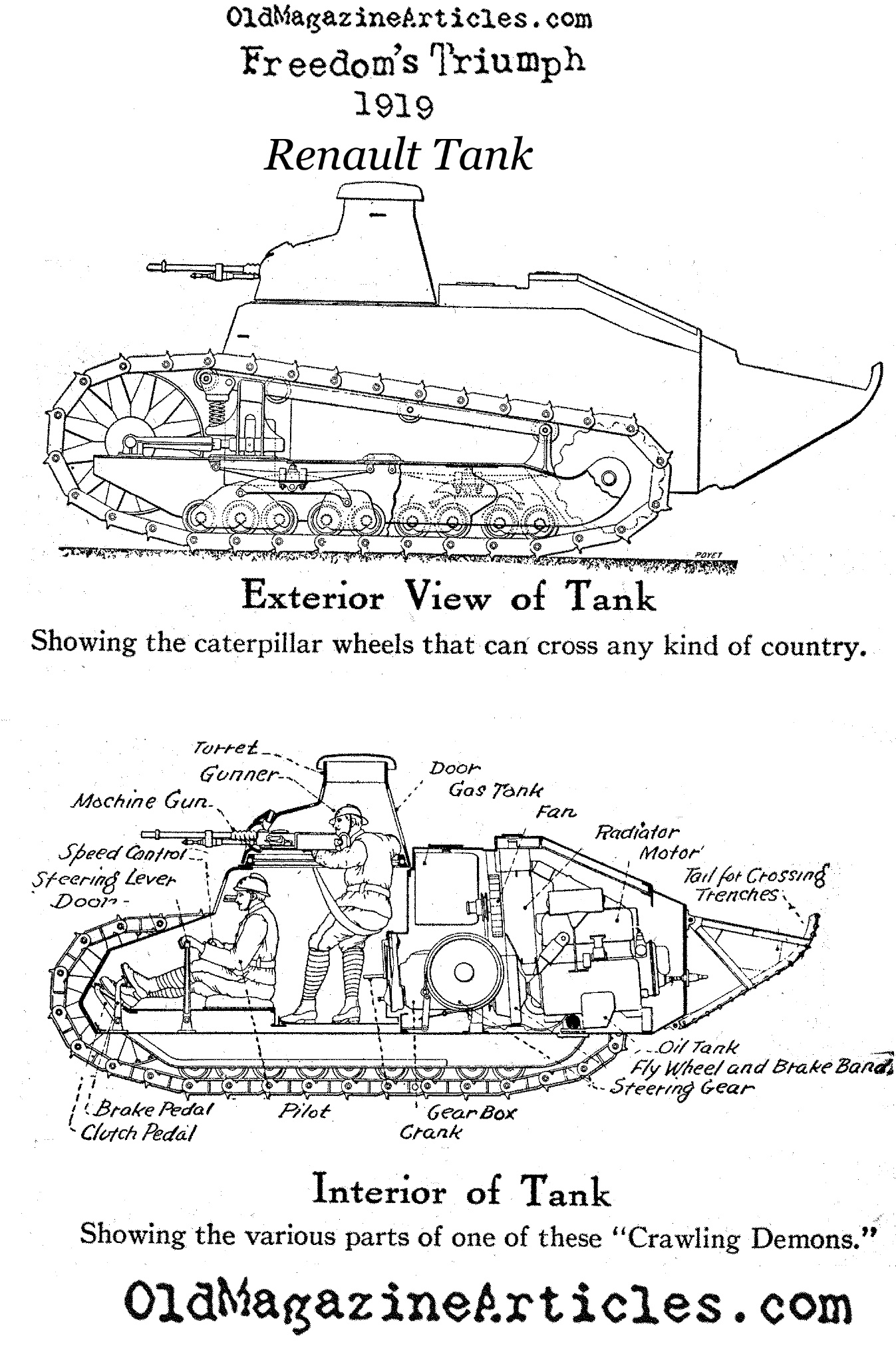 ww1 tank diagram 2002 nissan frontier stereo wiring the gallery for gt