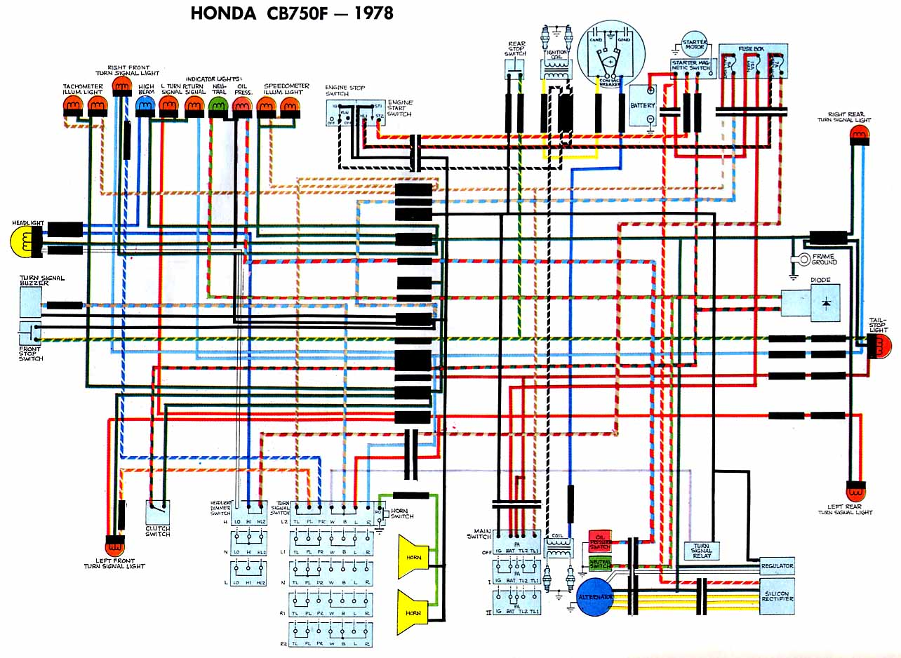 honda wiring harness diagram Honda Cb550 Wiring Diagram honda wiring harness diagram wiring diagrams honda cb550 wiring diagram