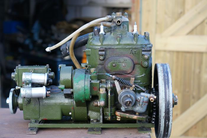 lucas dynastart wiring diagram hvac transformer old marine engine stuart turner p66d 1