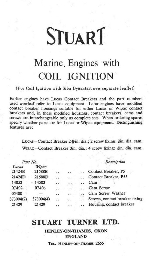 lucas dynastart wiring diagram e46 m3 stereo old marine engine stuart turner p66d retired motor engineer page 1 page2