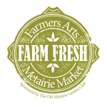 Farmers Arts Metairie Market Logo | Old Metairie Garden Club
