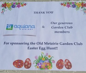 Old Metairie Garden Club Easter Egg Hunt - 54