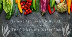 Produce and Chalk Board | Old Metairie Garden Club