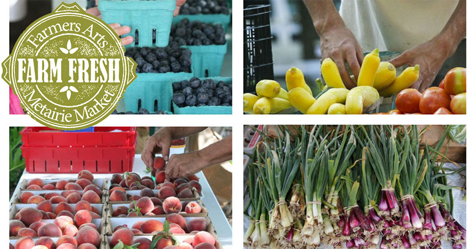 Farmers Arts; Metairie Market | Old Metairie Garden Club