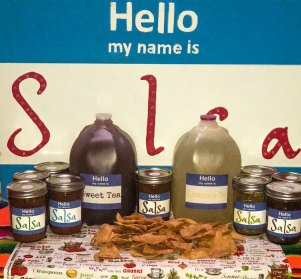 Hello My Name is Salsa   Old Metairie Garden Club
