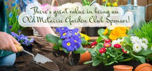 Sponsorship | Old Metairie Garden Club