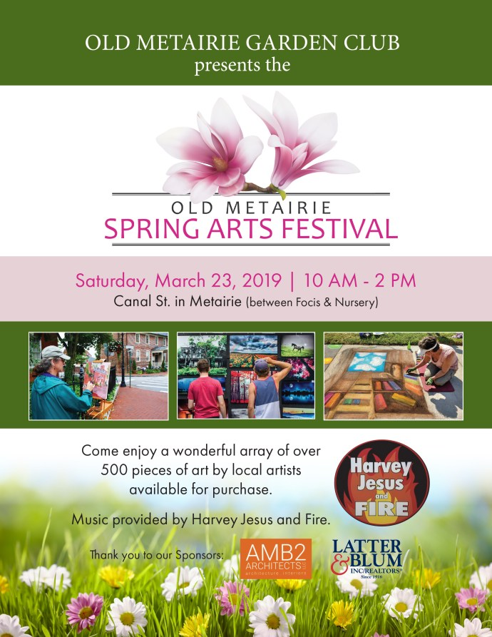 Old Metairie Spring Arts Festival