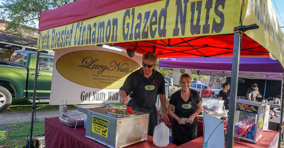 Farmers Arts Metairie Market - Cinnamon Glazed Nuts