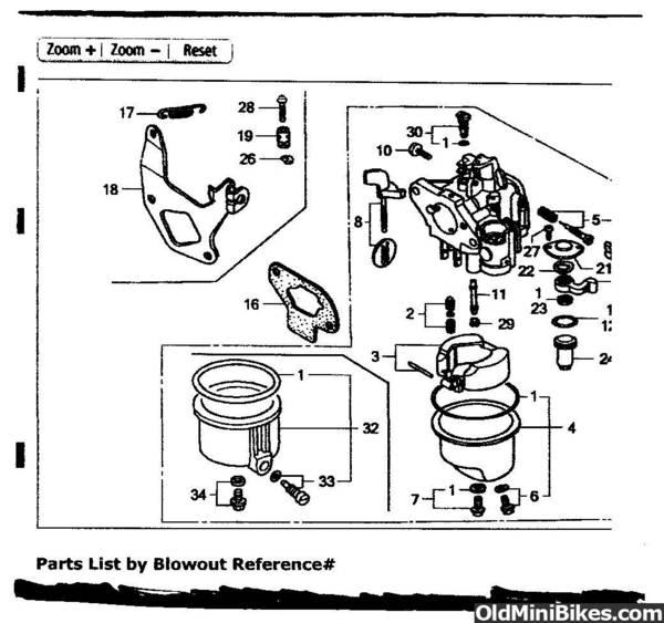 49cc pocket bike engine diagram