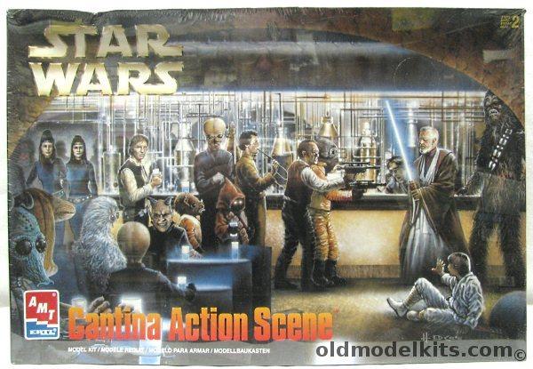 AMT Star Wars  Cantina Action Scene  Diorama 8205