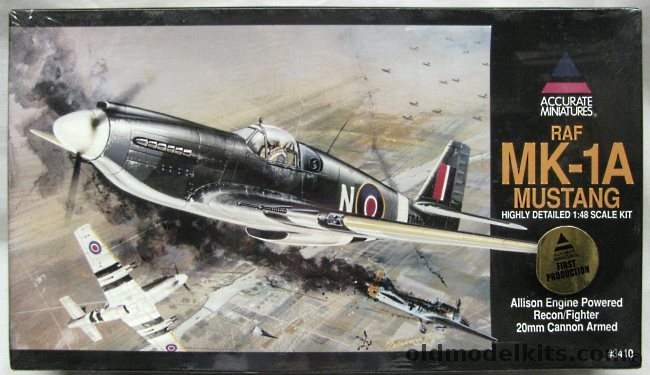 Accurate Miniatures 148 RAF Mk1A Mustang  P51