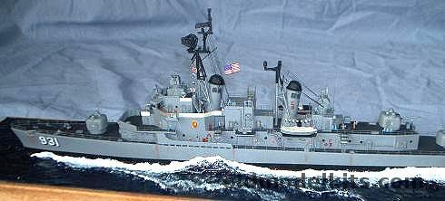 CM 1350 DD931 USS Forrest Sherman