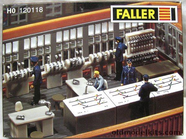 Faller HO Signal Tower Interior Equipment  HO Scale 120118