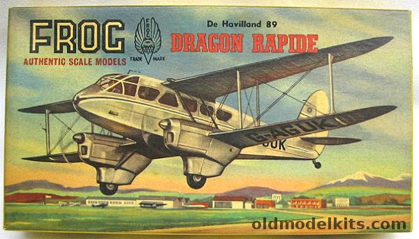 Frog 168 De Havilland 89 Dragon Rapide 399P