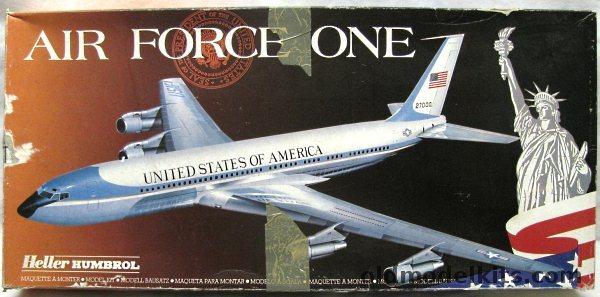 Heller 172 Air Force One  Boeing 707 80307